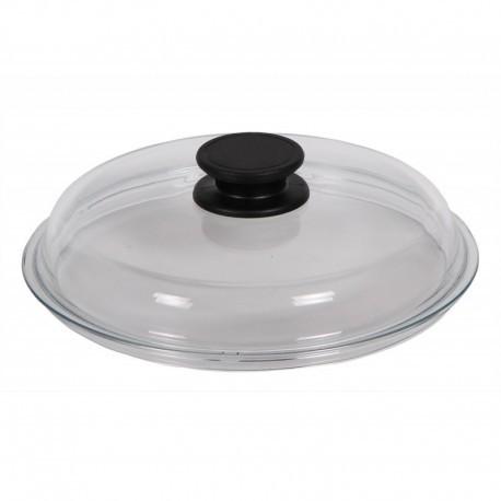 """Крышка стеклянная высокая для посуды """"Биол"""" (280мм)"""
